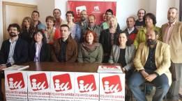 Asamblea IU con José Sarrión (Procurador en Cortes por IU) y Santi Ordóñez (Coordinador IU Provincial)